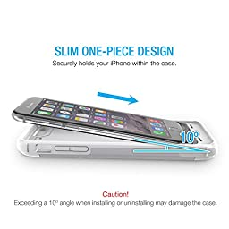 iPhone 6S Battery Case, iPhone 6 Battery Case, UNU AERO Wireless iPhone 6 Case w/Charging Pad (4.7 Inches)[White/Grey]1 YR -3000mAh Portable Charger, External Juice Power Bank[MFI Apple Certified]