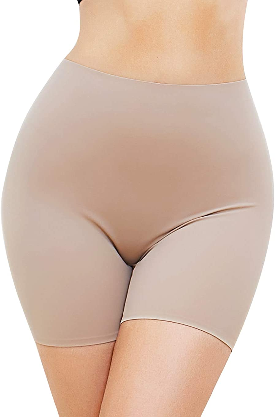 SLIMBELLE Bragas Pantalón Mujer Bóxer Elástico Braguitas Faja Moldeador Anti Rozaduras Shorts Adelgazante Sin Costuras Reductoras Shapewear Ultrafinos Panty Antiroces