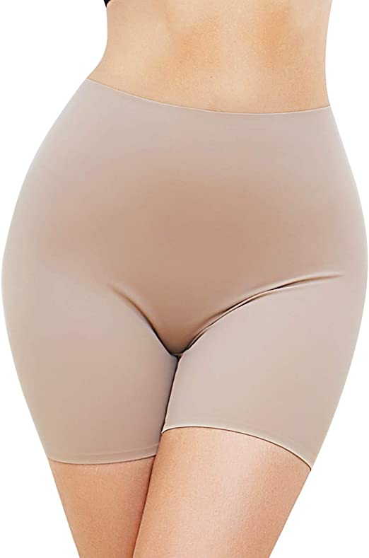 SLIMBELLE Faja Pantalón Anti Rozaduras Bragas Mujer Verano Elástico Falda Braguitas Invisible Sin Costuras Bóxer Moldeador Slipshort Suave Reductoras Body Shaper Panty Antiroces: Amazon.es: Ropa y accesorios