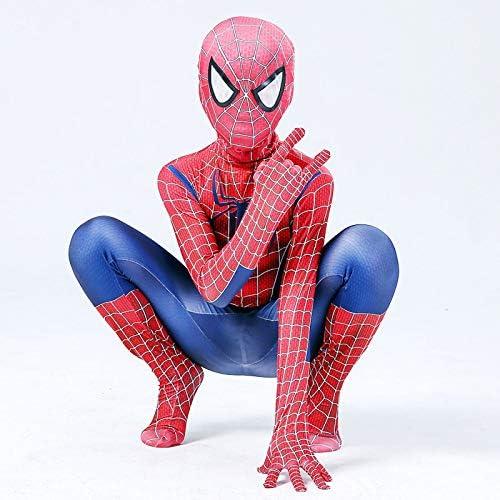 BLOIBFS Disfraz Infantil De Spider-Man,Halloween Adultos ...