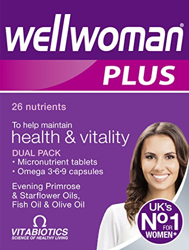 Wellwoman Plus Tablets 56 Capsules