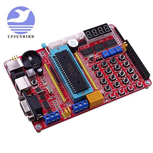 - PIC MCU Development Mini System PIC Development Board + Microchip PIC16F877A + USB Cable