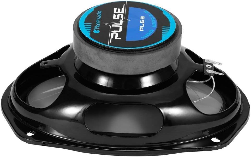 200 Watts of Power Per Pair Full Range Planet Audio PL57 5 x 7 Inch Car Speakers Sold in Pairs 100 Watts Each 3 Way