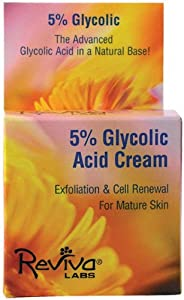 Reviva Labs 5% Glycolic Acid Renaissance Cream - 1.5 oz (2 Pack)