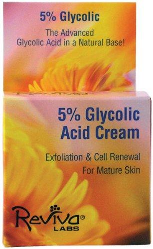 5% Glycolic Acid Cream - Reviva Labs 5% Glycolic Acid Renaissance Cream - 1.5 oz (2 Pack)
