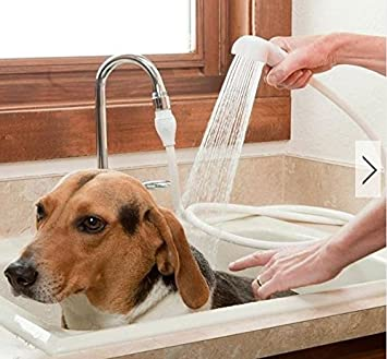 Captivating Dog Shower Head Spray Drains Strainer Bath Hose Sink Washing Hair Pet Lave  Water By ShopIdea
