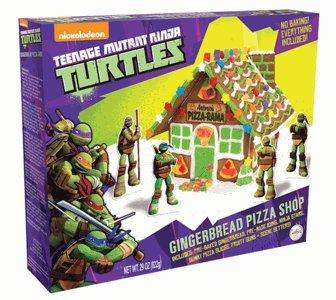 Amazon.com : Teenage Mutant Ninja Turtles Gingerbread House ...