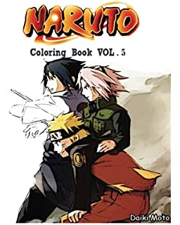 NARUTO Coloring Book Vol5