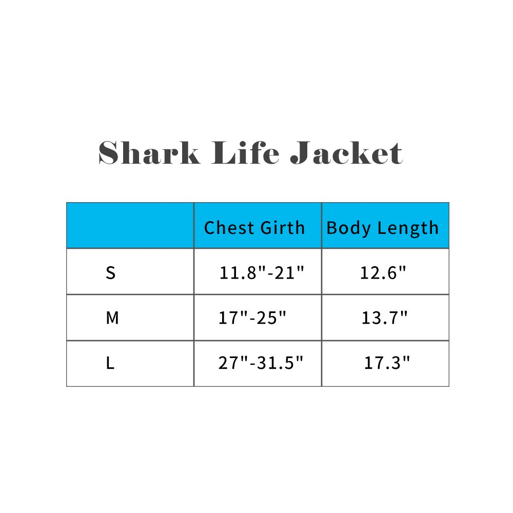 BFLIfe Dog Life Jacket Small Shark Pet Swimming Vest for Dogs by BFLIfe (Image #2)