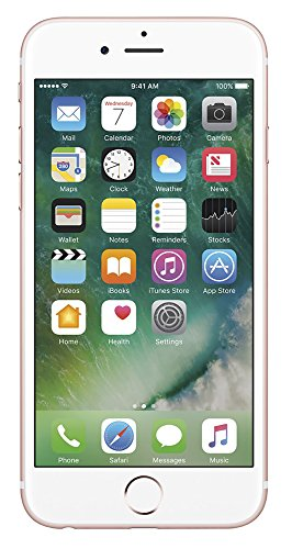 - Apple iPhone 6s (4.7'') 16GB Unlocked Smartphone, GSM Only (AT&T/T-Mobile), Rose Gold (Certified Refurbished)