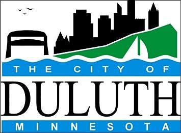 Amazon.com: American Vinyl Duluth Minnesota City Logo Sticker ...