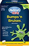Hyland's Bumps 'n Bruises with Arnica Tablets, Natural Homeopathic Relief of Pain, Swelling, and Bruising, 125 Count