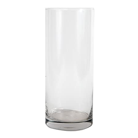 Carbomboniere Car Wedding Favours Cylindrical Glass Vase 30 Cm