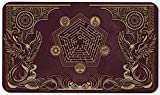 Paramint Flamewake Phoenix - MTG Playmat - Perfect for Magic The Gathering, Pokemon, YuGiOh, Anime - TCG Card Game Table Mat - Durable, Thick, Cloth Fabric Top with Rubber Bottom by Daniel Ziegler