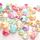 600 Mixed Color & Size AB Jelly Rhinestone 3,4,5,6mm Flatback Decor Nail Art *ship with FREE GIFT from GreatDeal68*
