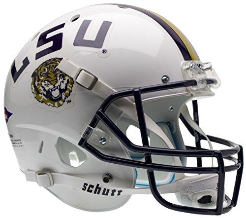 RS Schutt AiR XP Full-Size REPLICA Football Helmet LSU (WHITE) ()