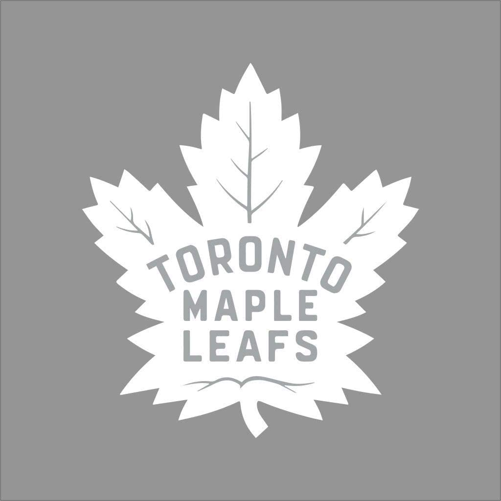 Maple Leaf Toronto Vinyl Decal Sticker White 24 For Livingroom Bedroom Walls Amazon Ca Office Products