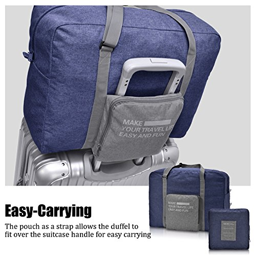 For Spirit Airlines Foldable Travel Duffle Bag Tote Carry on Luggage by Narwey by Narwey (Image #3)
