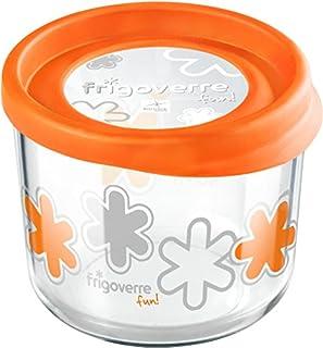 Bormioli Rocco Frigoverre Fun Orange Glass 28 Ounce Storage Container with Lid, Set of 2 (B003R0AZDC) | Amazon price tracker / tracking, Amazon price history charts, Amazon price watches, Amazon price drop alerts