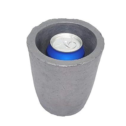 Crisol de fundición Carburo de silicio Cristales de grafito Copa ...