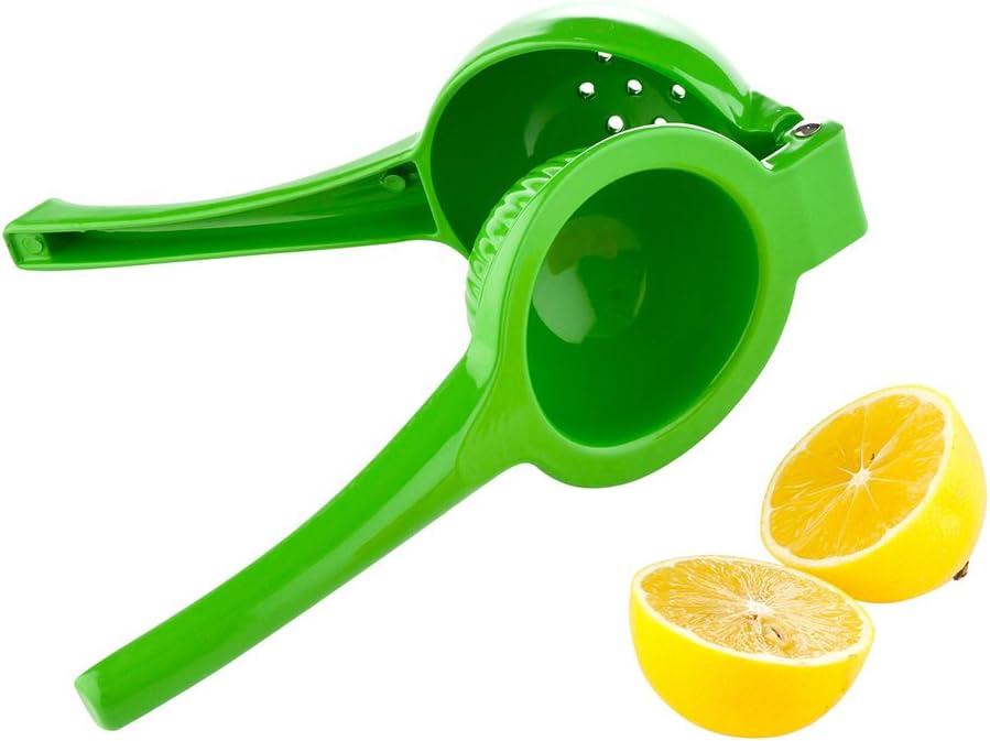 Manual Lemon Juicer, Manual Lime Juicer - Commercial Grade - Green - 1ct Box - Met Lux - Restaurantware, Large (RWT0238)