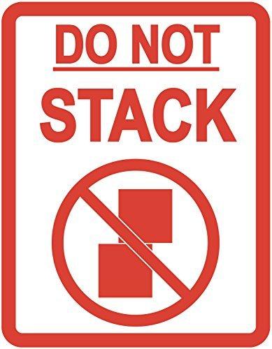 Confezione di 'non Stack' Imballaggio Adesivi/Etichette Adesive–Altri Quantitativi Disponibile da Questo offerta rosso Audioprint Ltd
