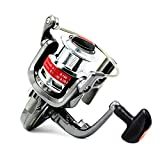 Tact-Pro Open Face Spinning Fishing Reel Baitrunner, Metal Material with 5.0:1 Gear Ratio 10 Ball Bearings, Freshwater/Saltwater (YD3000)