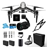 DJI INSPIRE 2.0 Premium Combo Drone Quadcopter 5.2K video, Includes Zenmuse X5S Camera Gimbal, Remote Controller, CinemaDNG & Apple ProRes Activation Key (DJI Inspire 2.0 Premium) Picture