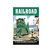 Railroad Magazine: The Train That Makes A Thousand Stops, 1954 Print (Canvas Giclee 12x18) by Buyenlarge
