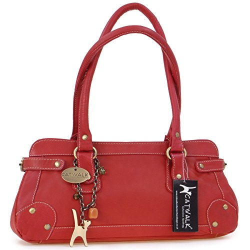 CATWALK COLLECTION - CARNABY ST. - Bolso de mano - Cuero Rojo