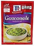 McCormick Produce Partners Great Guacamole Seasoning Mix 1 Oz Packet MILD (Pack of 3)