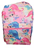 Nickelodeon Shimmer & Shine Floating on Air School Backpacks (Light Pink) For Sale