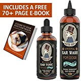 Mister Ben's Most Effective Dog Ear Treatment Cleanser Ear Care Kit w/Aloe for Dogs – This Dog Ear Cleaner Provides Fast Relief from infections, itching, Odors, Bacteria, Mites, Fungus & Yeast