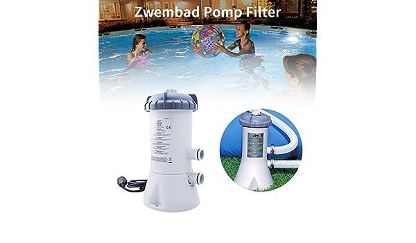 WXH Bomba de Filtro para Piscina, purificador de Piscina de 220 v ...