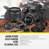 Nikon D3500 DSLR Camera with AF-P DX NIKKOR 18-55mm