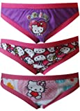 Hello Kitty 3 Pack Girls Bikini Style Panties for Little Girls (4)