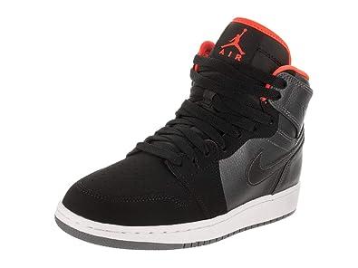 2c97fb95dee Nike Air Jordan 1 Retro High BG Chaussures de Sport - Basketball garçon