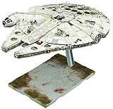 #9: Star Wars / the last of the Jedi Millennium Falcon 1/144 scale plastic model