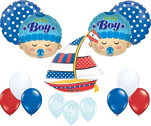 Nautical Baby Shower Balloon Decoration Kit for $<!--$19.85-->