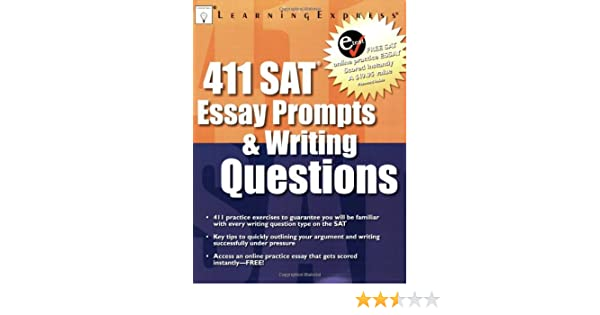 Amazoncom  Sat Essay Prompts  Writing Questions   Amazoncom  Sat Essay Prompts  Writing Questions   Learningexpress Llc Editors Books Do My University Assignments also Topic For English Essay  English Essays For High School Students