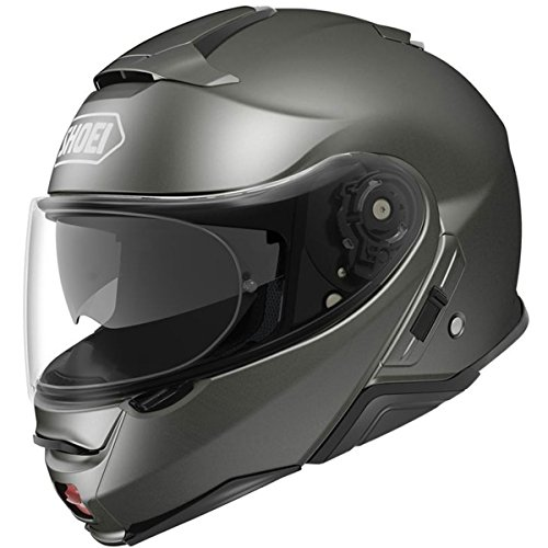 Shoei Solid Neotec 2 Modular Motorcycle Helmet - Anthracite Metallic/X-Large -  0116-0117-07