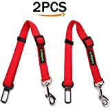 Cheap LovinPet 2 Packs Dog Seat Belts Cat Car SeatBelt Safety Leads Vehicle Seatbelt Harness