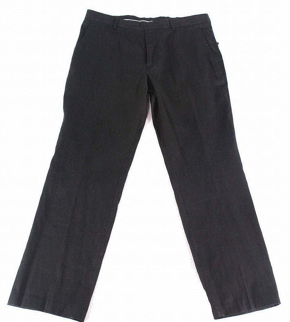 INC International Concepts Mens Stretch Slim-Fit Pants In Black