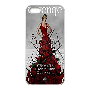 Case For HTC One M7 Cover Case Revenge Quotes Step by Step,drop by Drop,one by One, Protective Case Stevebrown5v - White
