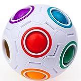 CuberSpeed YJ Rainbow Ball Magic cube Fidget toy puzzle Magic Rainbow ball ...