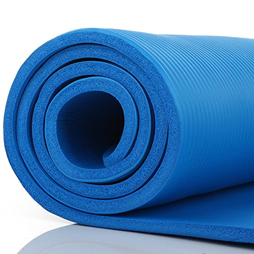 Bruciare Pilates Chair Buy Online In Uae: Masione® Yoga Mat 10mm Thick NBR Nonslip Pilates Workout