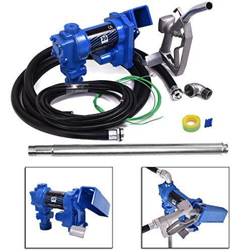 12v Fuel Transfer Pump - JAXPETY Fuel Transfer Pump 12 Volt 20 GPM Diesel Gas Gasoline Kerosene Car Tractor Truck