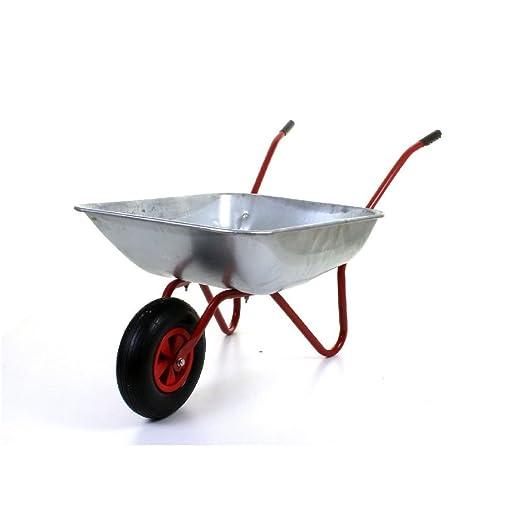 100 kg 65L Metal galvanizado carretilla hinchable de neumático ...