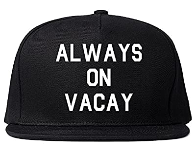 Always On Vacay Snapback Hat Cap
