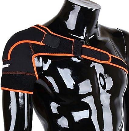ZJchao - Peso leggero Gym Sport - Tutore per spalla regolabile per uomo e  donna c0a513f0a227